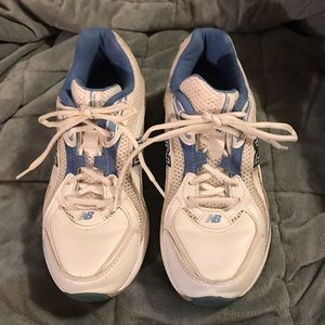New Balance 846 White/Blue sneakers  size 6